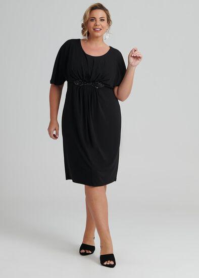 Goddess Knit Cocktail Dress