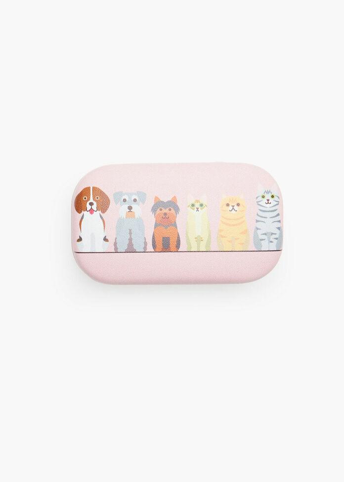 Cat & Dog Coin Case, , hi-res