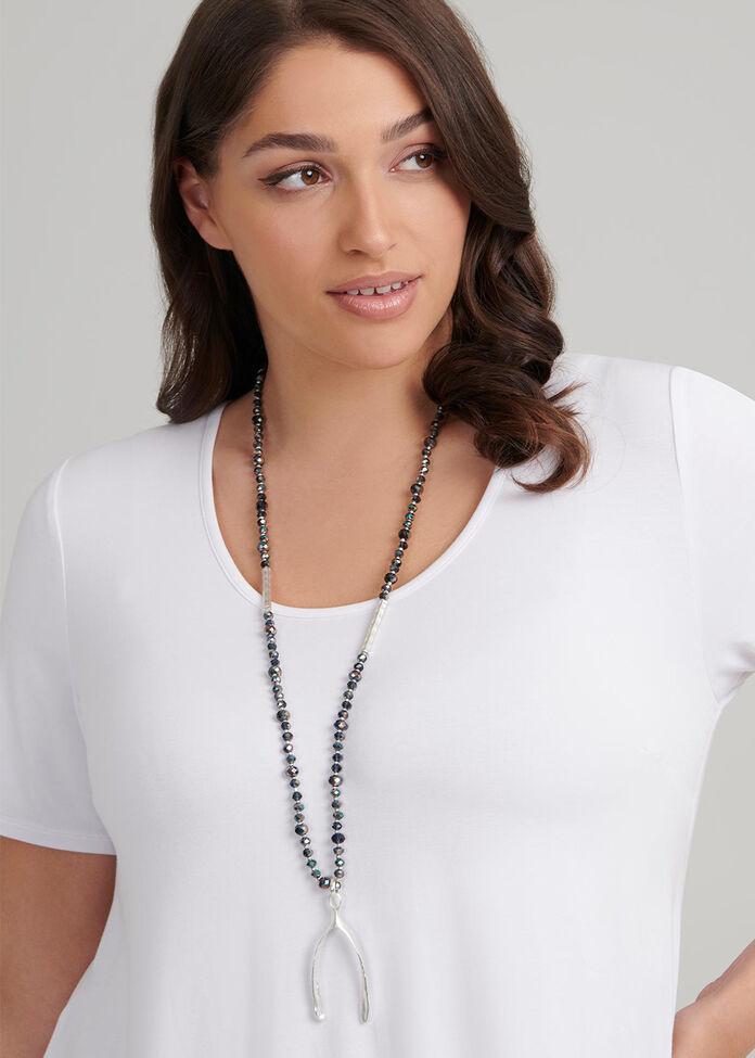 Wishbone Necklace, , hi-res