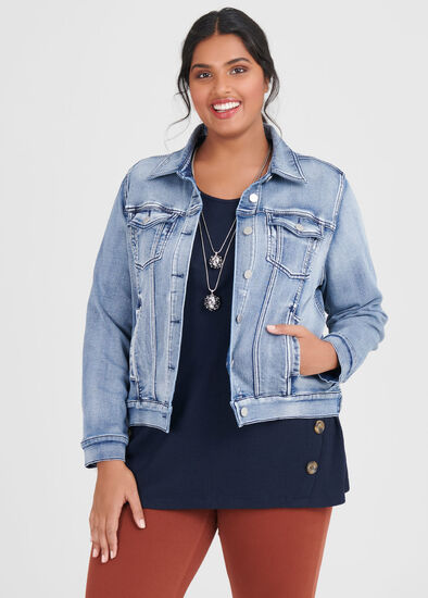 Classic Denim Best Friend Jacket