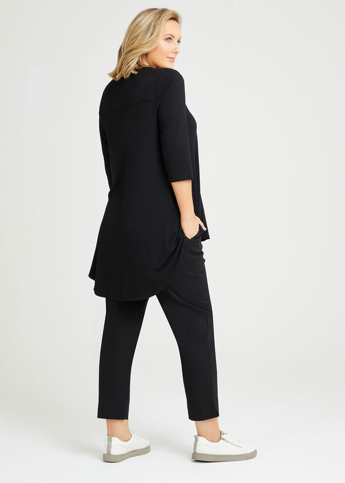 Bamboo Ultimate 3/4 Sleeve Tunic, , hi-res