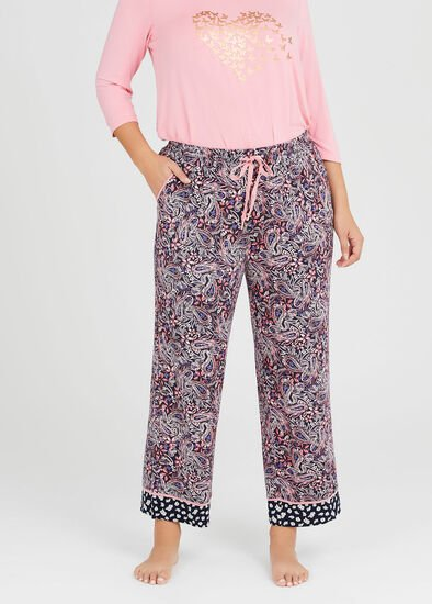Bamboo Paisley Pyjama Pant