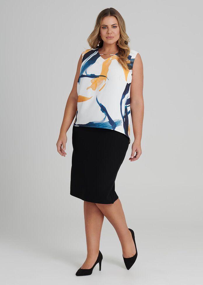 Director Pencil Skirt, , hi-res