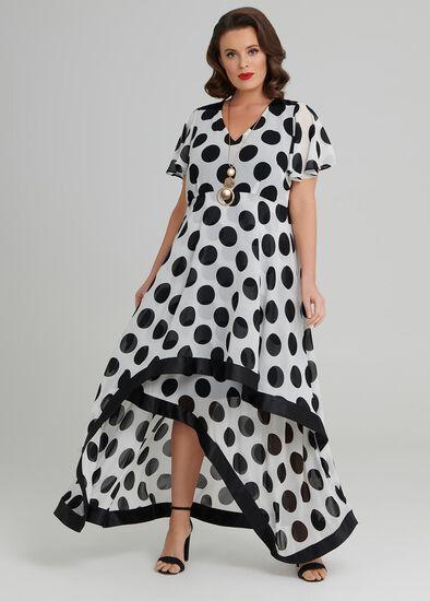 Ascot Spot Dress