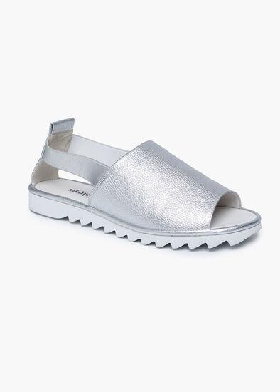 Silver Siren Sandal