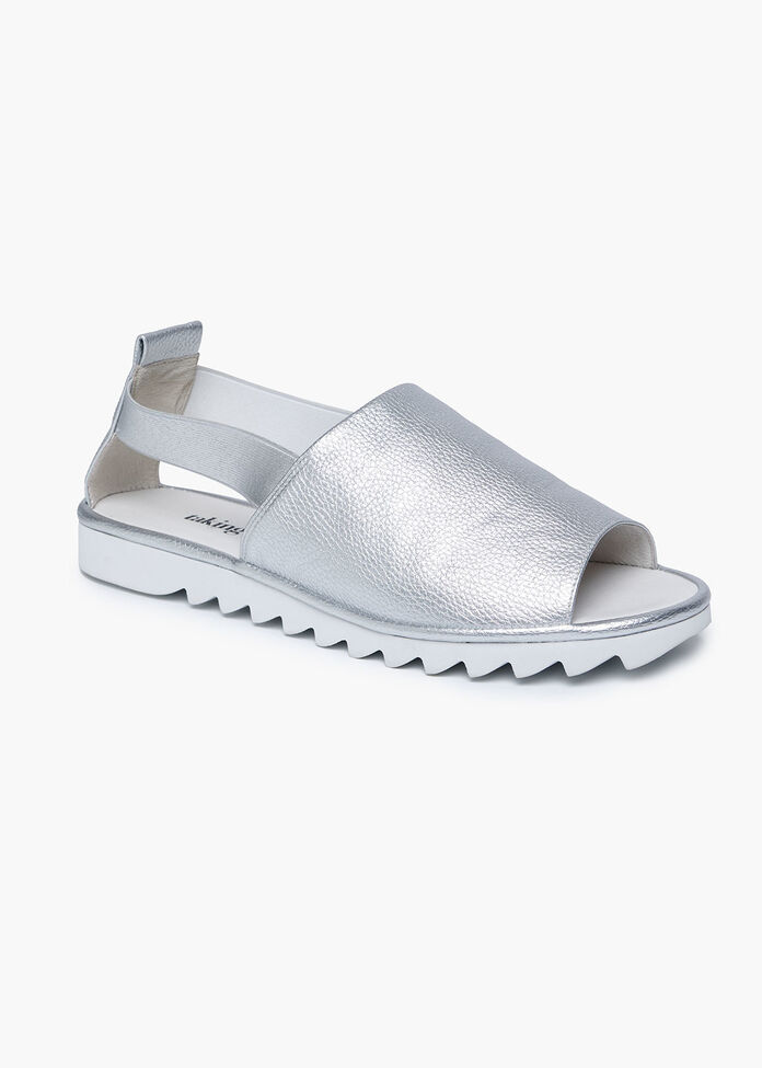 Silver Siren Sandal, , hi-res