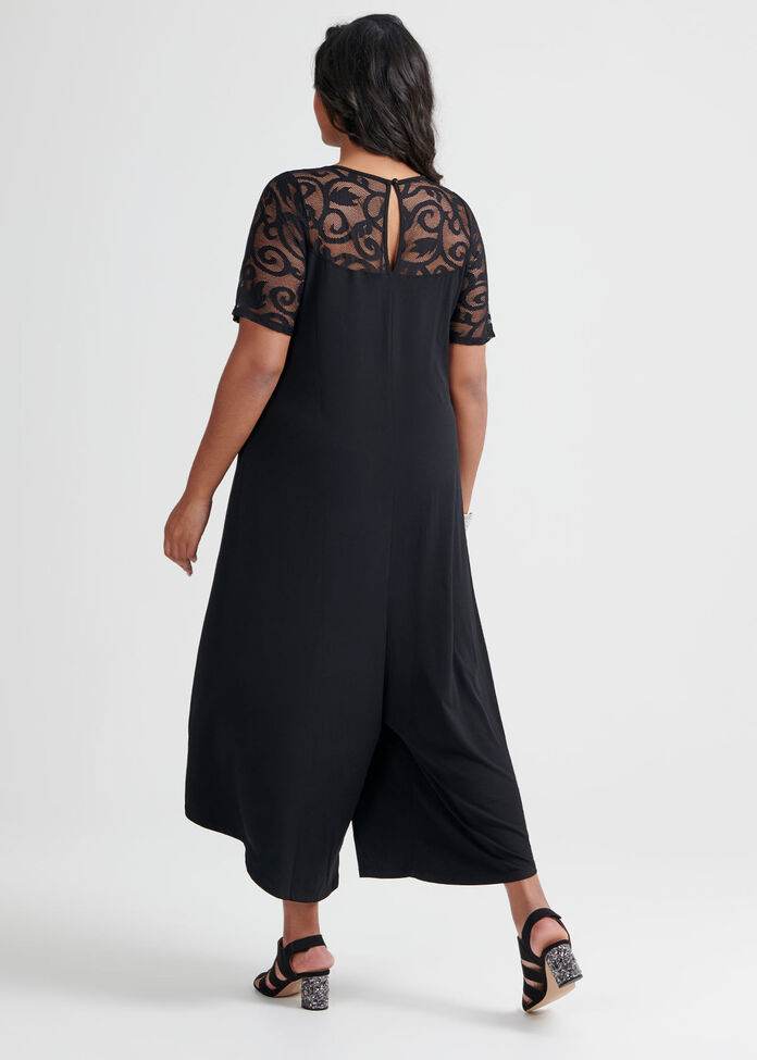 Lace Essential Jumpsuit, , hi-res