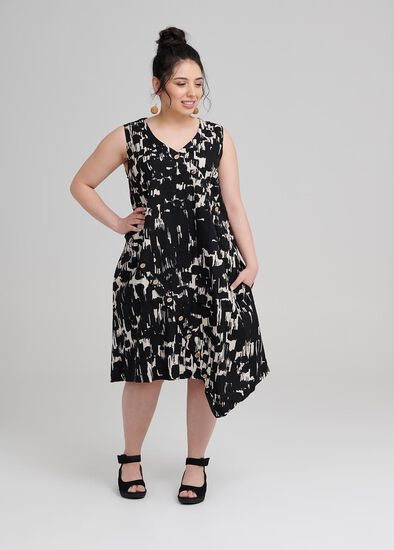 Petite Mela Linen Dress