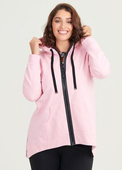 Organic Active Hooded Jacket