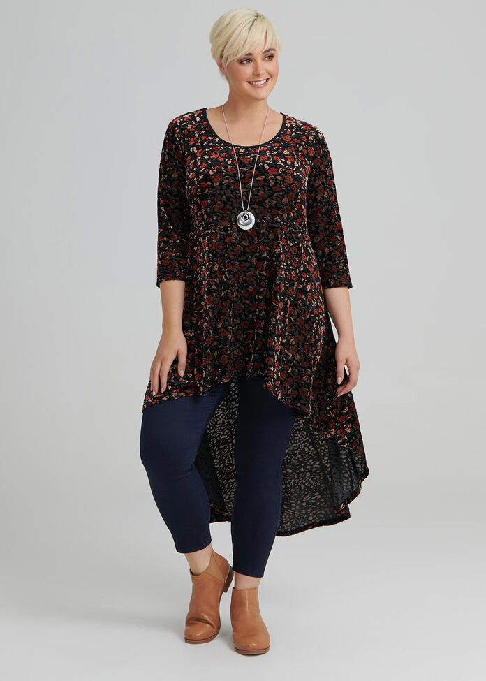 Devotion Velour Tunic, , hi-res