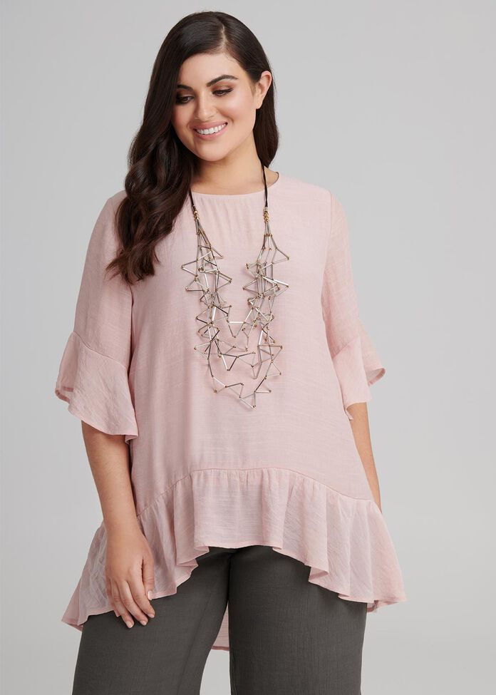 Norah Flowy Top, , hi-res