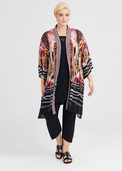 Zanzibar Safari Kimono