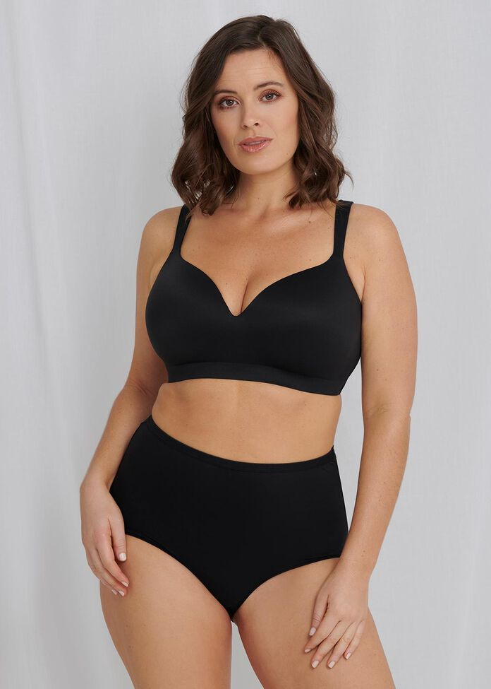 Soft Contour Wirefree Bra Sizes 20-24, , hi-res