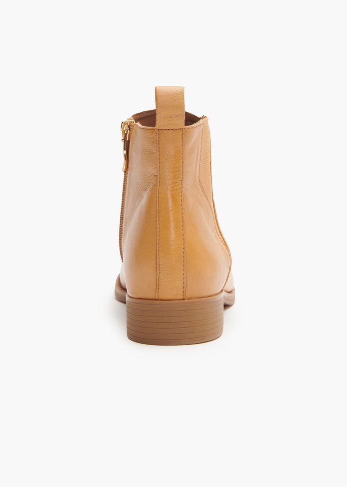 Lightning Leather Boot, , hi-res