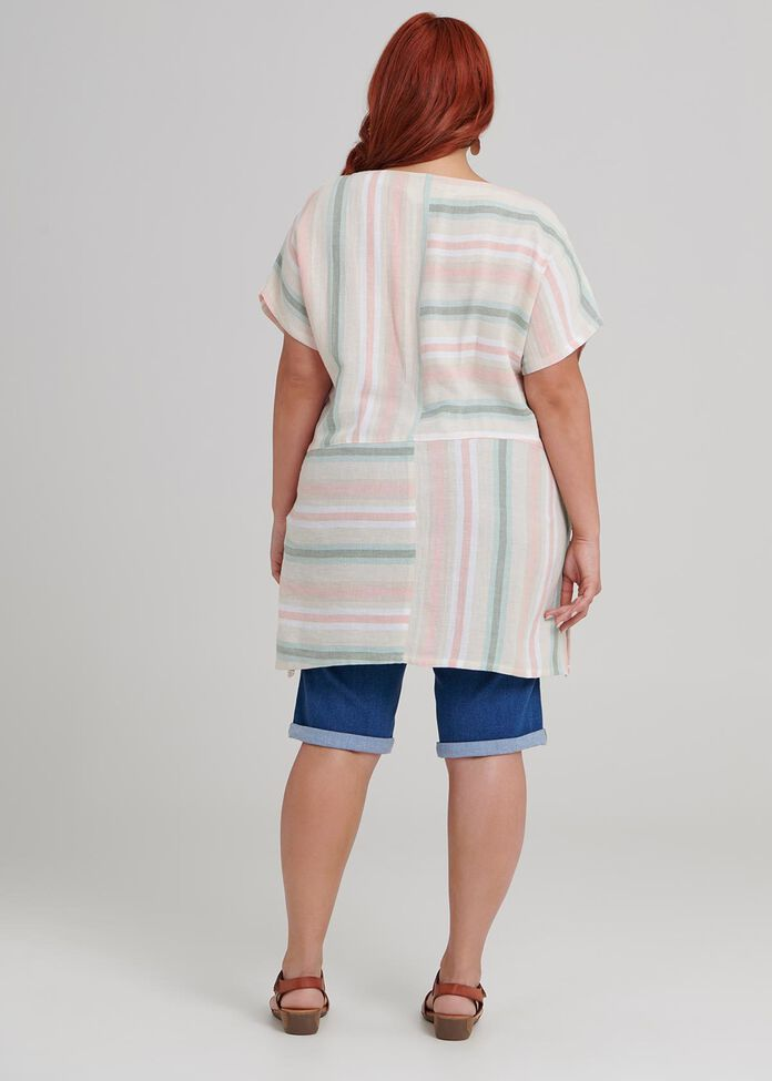 Summer Stripe Top, , hi-res