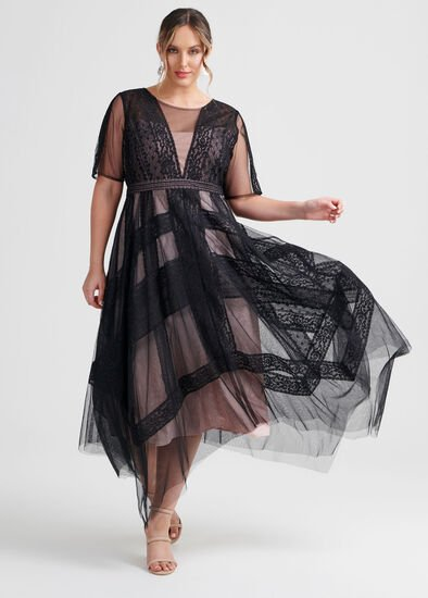 Serena Lace Cocktail Dress