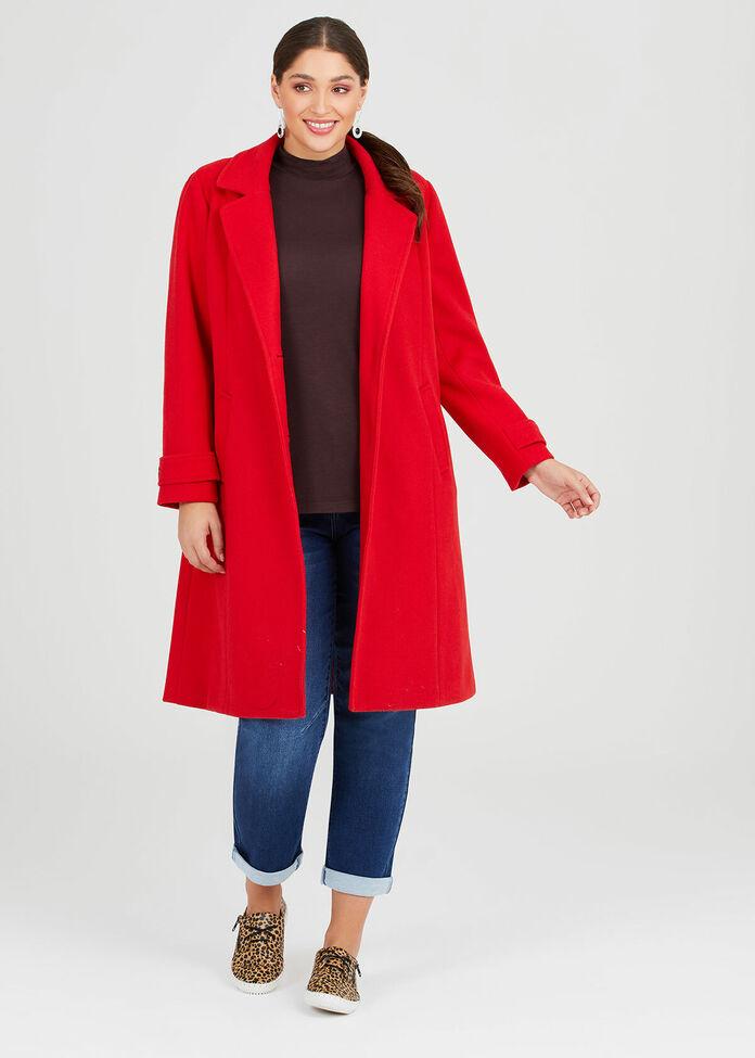 Paris Long Coat, , hi-res