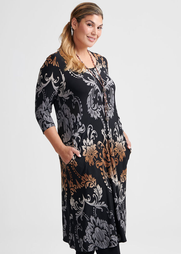 Paisley Vision Dress, , hi-res