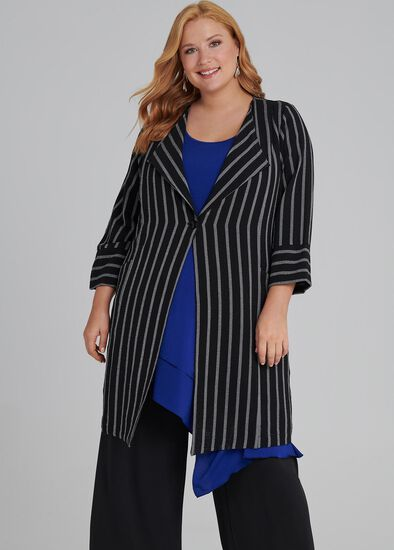 Line Up Stripe Jacket