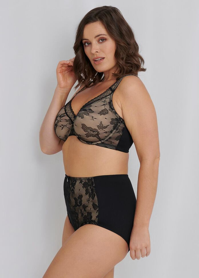 Smooth Lace Bra Sizes 20-24, , hi-res