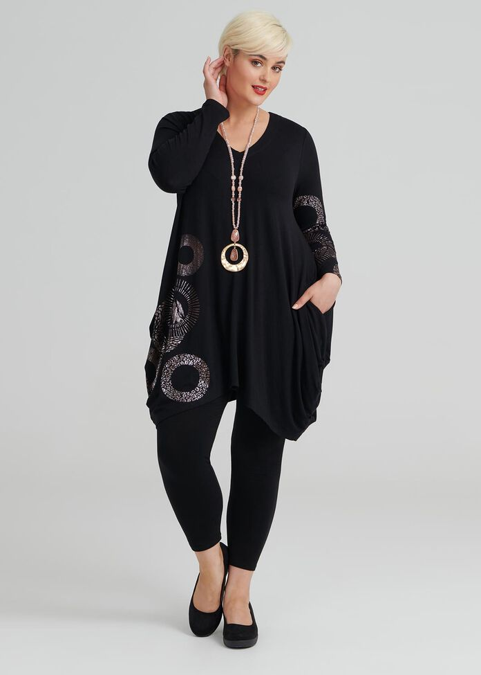 Oxford Circus Long Sleeve Tunic, , hi-res