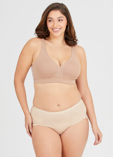Wirefree Cooling Lounge Bra Sizes 20-24