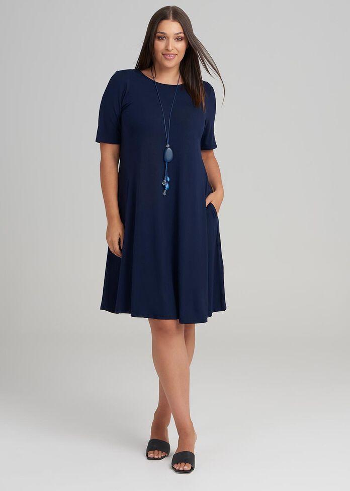 Bamboo Essential Dress, , hi-res