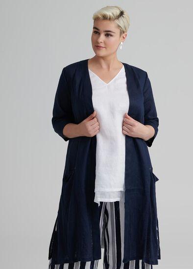 Linen Sebou Jacket