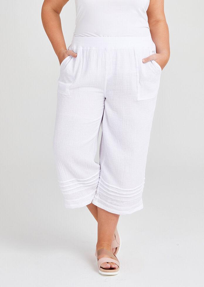 Cotton Coastal Crop Pant, , hi-res