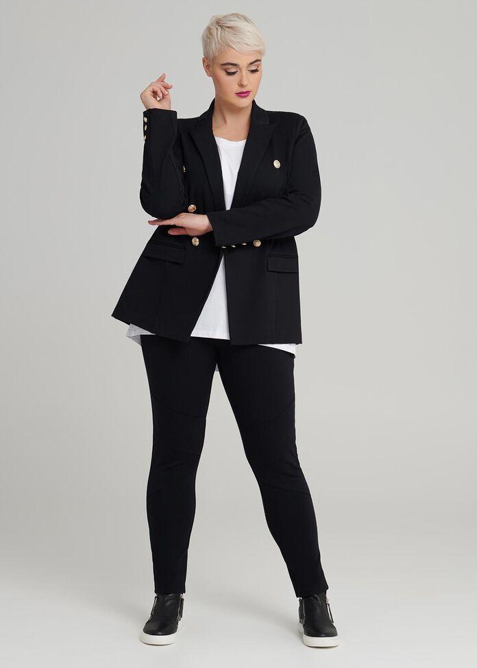 Coco Luxe Spliced Legging, , hi-res