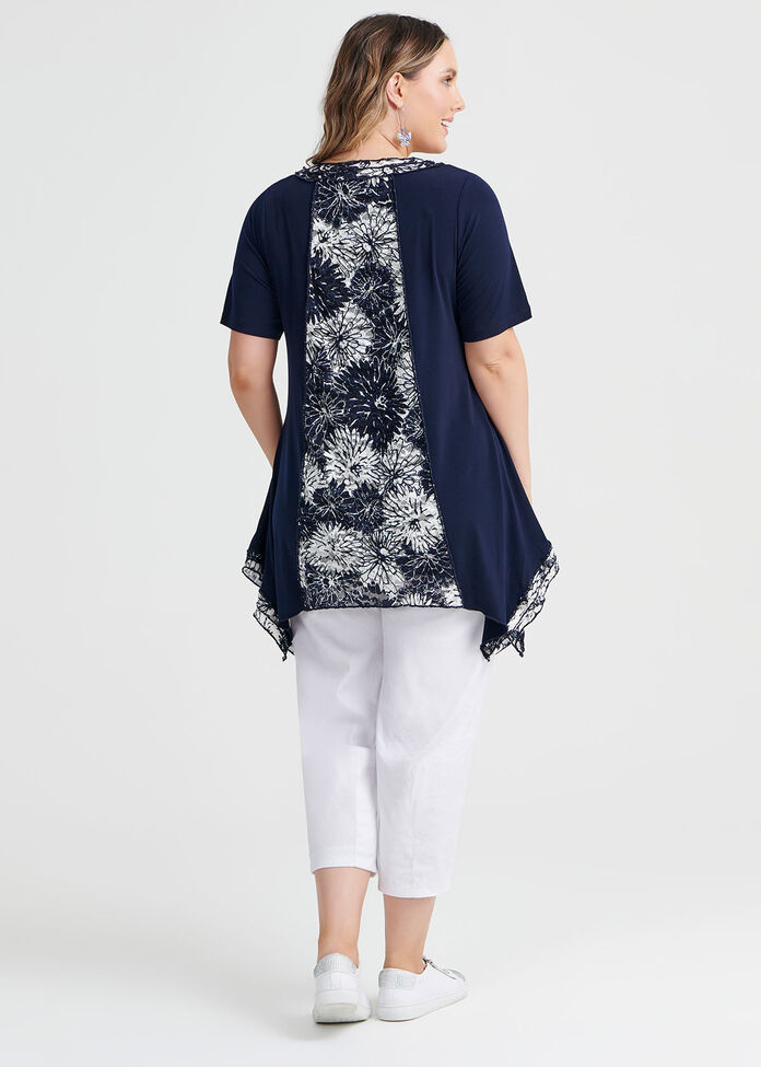 Madeline Lace Top, , hi-res