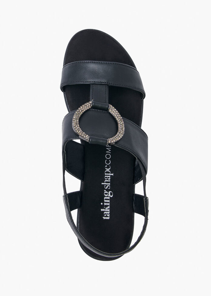 Buckle Up Bling Wedge, , hi-res