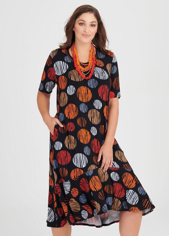 Bamboo Bright Spot Dress, , hi-res