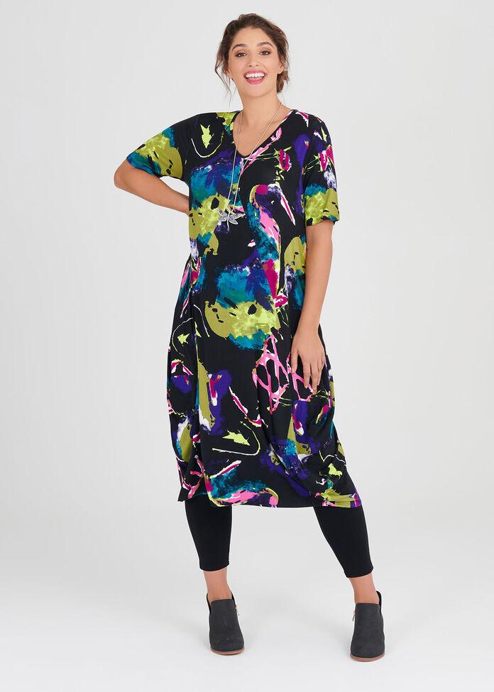 Bold Bamboo Dress, , hi-res