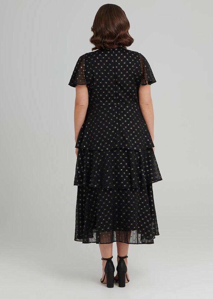 Sleeved Cocktail Dress, , hi-res