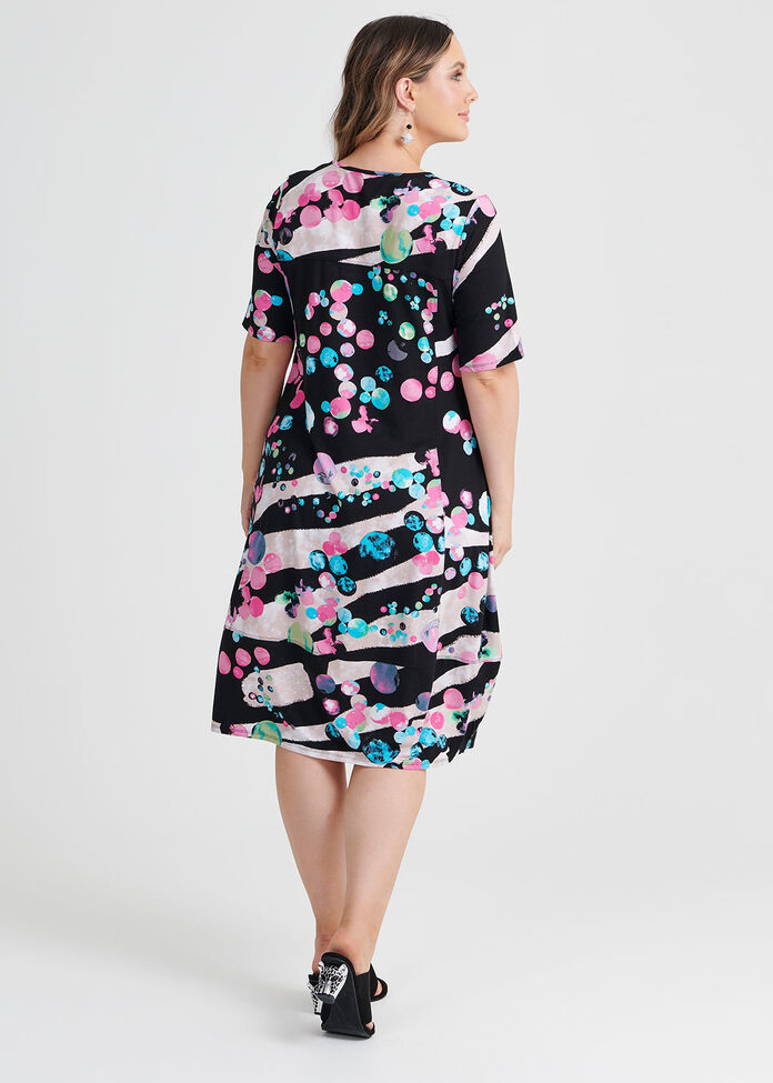 Crazy Cool Spot Dress, , hi-res