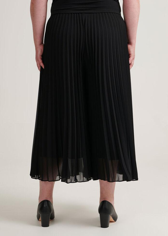 Sunray Pleated Culottes, , hi-res