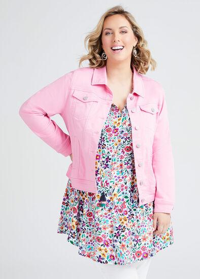 Coloured Classic Denim Jacket