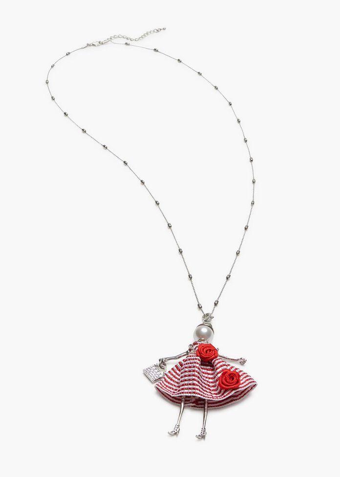 Dorothy Doll Necklace, , hi-res