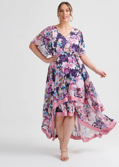 Majestic Flora Dress