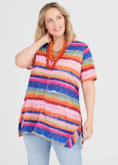 Art Stripe Top