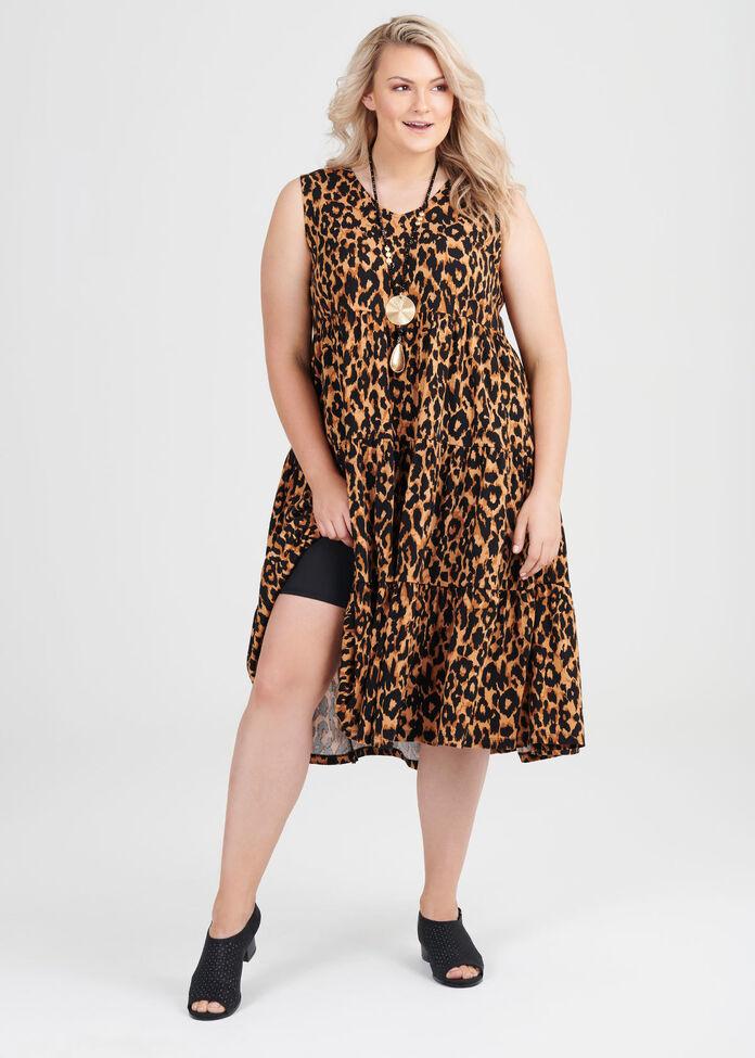 Organic Animalia Dress, , hi-res