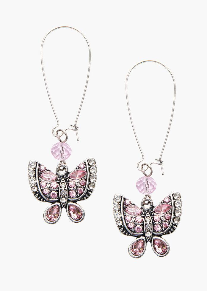 In A Flutter Earrings, , hi-res