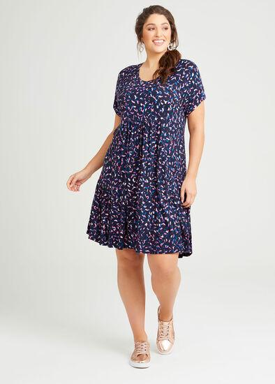 Heather Bamboo V-neck Dress