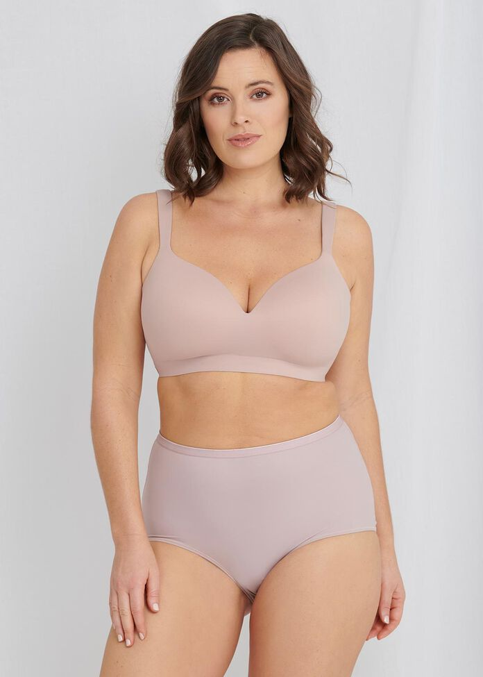Soft Contour Wirefree Bra Sizes 14-18, , hi-res