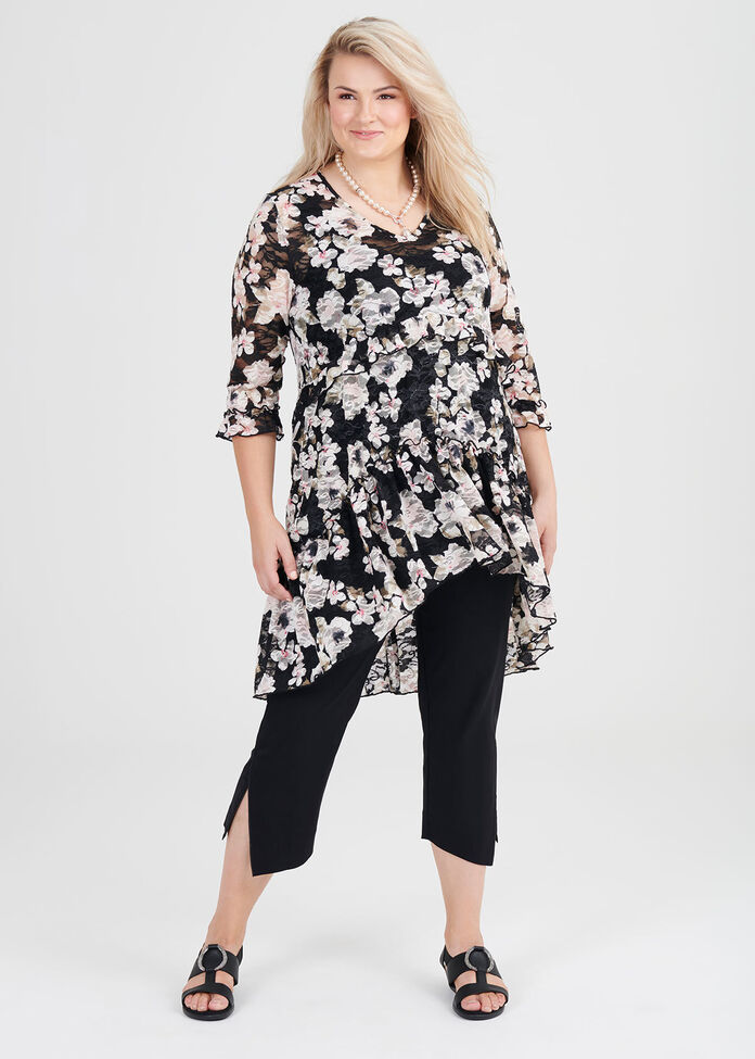 Floral Fortune Tunic, , hi-res