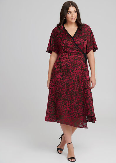 Women In Love Wrap Dress
