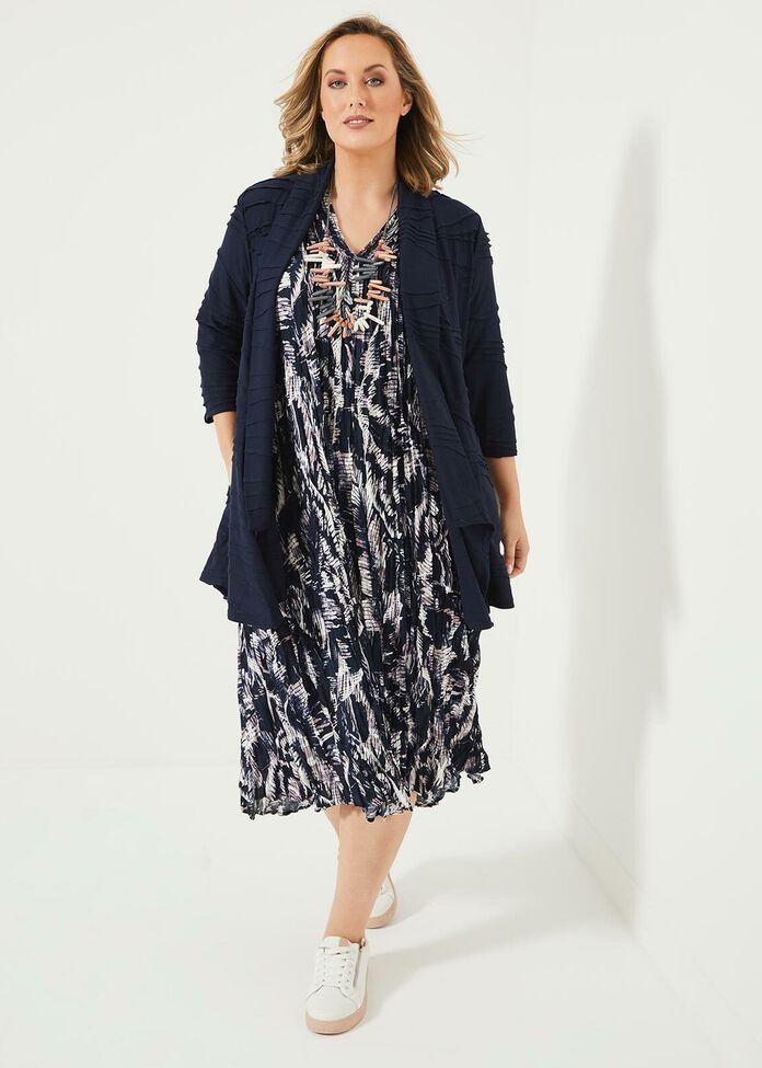 Palm Natural Dress, , hi-res