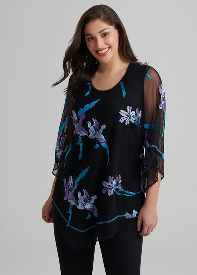 Lily Embroidered Tunic