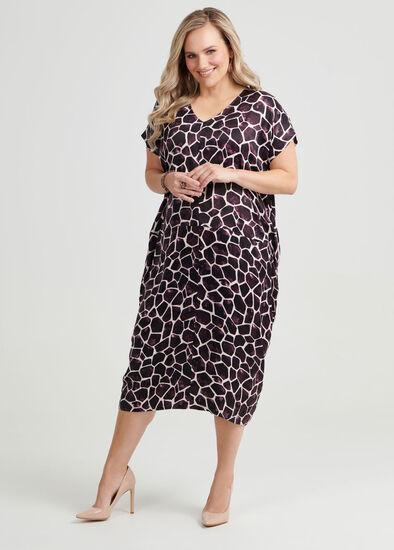 Chloe Giraffe Print Dress